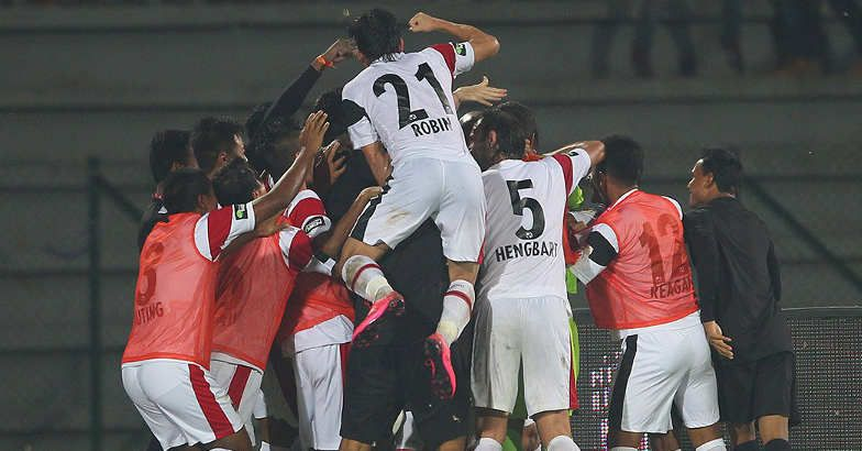 NorthEast United notch up first win