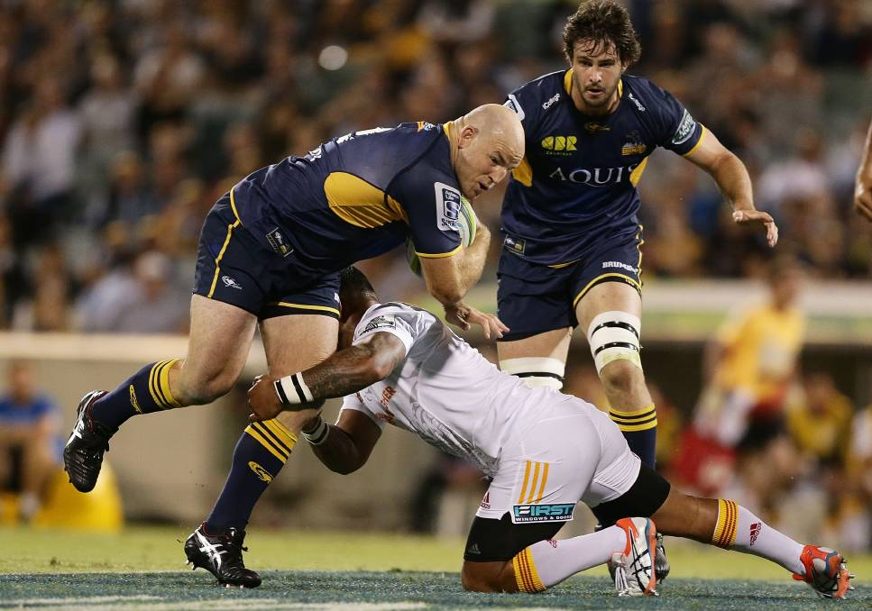 BRUMBIES BOSS TO KEEP TOP SPOT FOR NOW